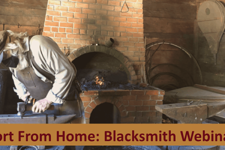 Fort Nisqually live webinar blacksmithing