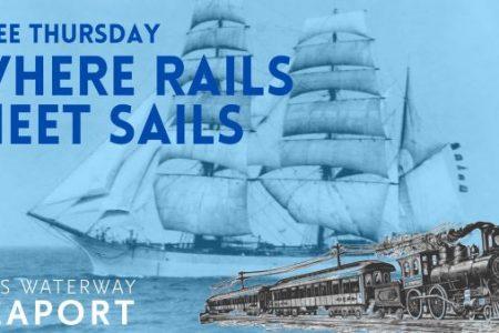 Foss Waterway Seaport Where Rails Meet Sails banner