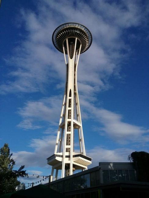 Space Needle photo by Carole Cancler