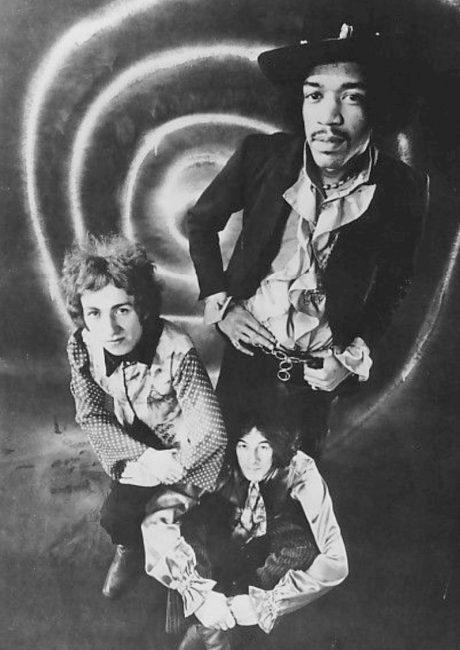 Jimi Hendrix Experience band 1968