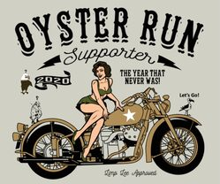 2020 Oyster Run limited edition logo