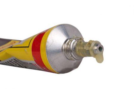 open tube of glue