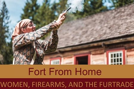 Fort Nisqually women and firearms live demo