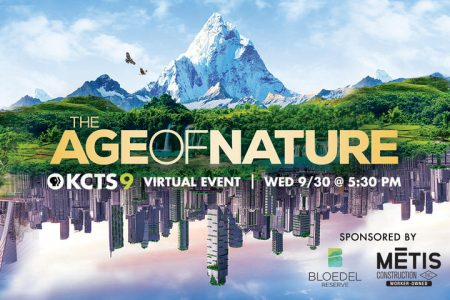 KCTS 9 event The Age of Nature banner