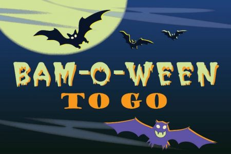 Banner for Bellevue Art Museum BAM-O-WEEN to go 2020