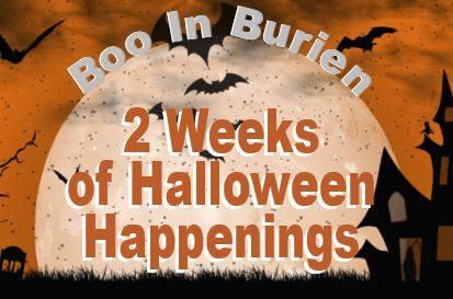 Boo in Burien Halloween 2020 banner