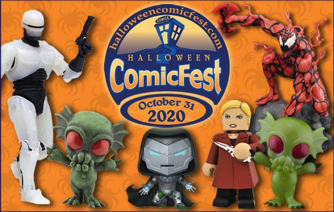 Banner for ComicFest Halloween 2020
