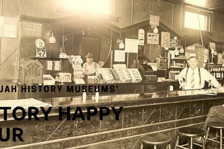Banner for Issaquah History Museum happy hour