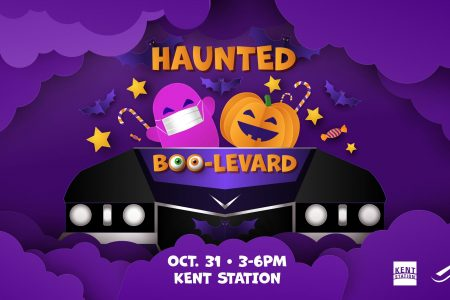 Banner for Kent Station Boo-levard October 2020