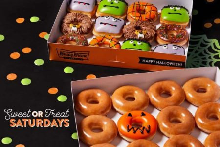 Krispy Kreme Sweet or Treat dozen
