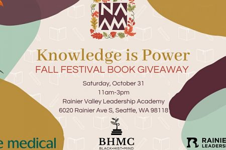 Banner for NAAM fall festival book giveaway oct 2020