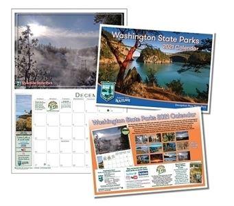 Washington State Parks calendar 2021
