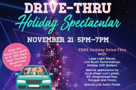 Banner for Landing Renton Drive-thru Holiday Spectacular 2020
