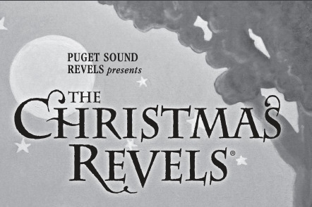 The Christma Revels banner