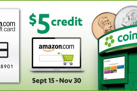 banner for amazon credit cointstar