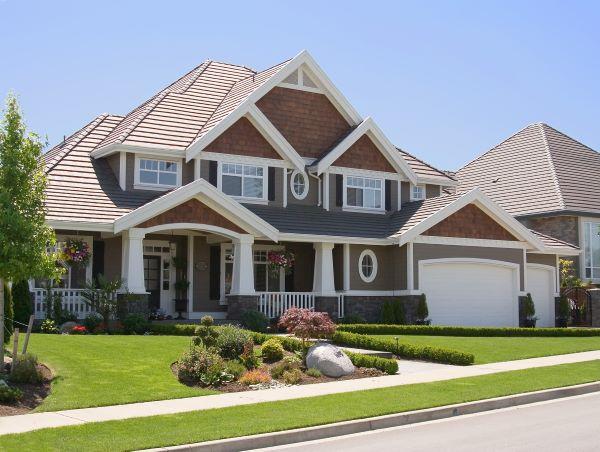 modern suburban home