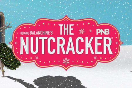 banner for PNB Geroge Balanchine's The Nutcracker