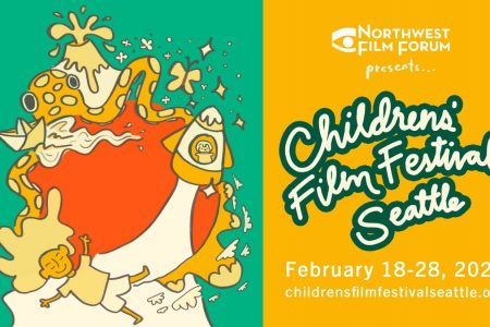 Banner for Children's Film Festival Seattle by Northwest Film Forum