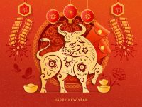 Banner for Lunar New Year of the Ox
