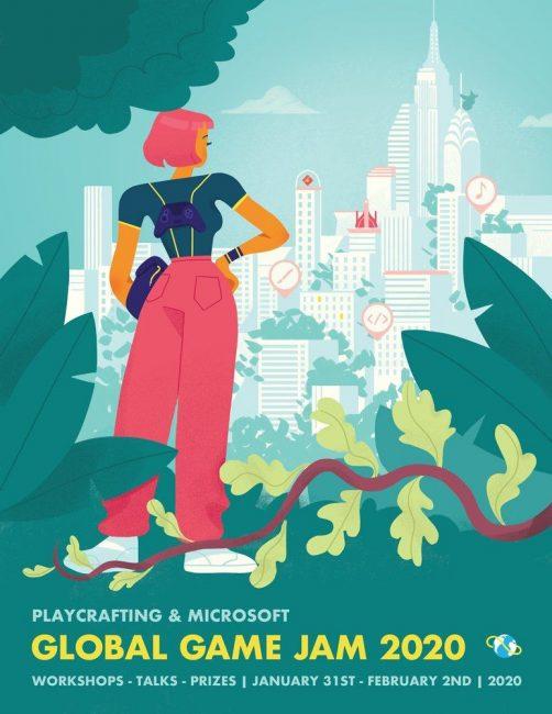 Global Game Jam 2020 poster