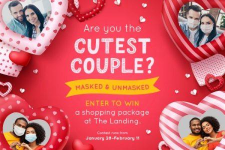 Banner for Renton Landing Cuteset Couple Valentines Dau giveaway 2021