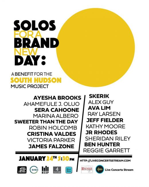 Solos For A Brand New Day - A Benefit for the South Hudson Music Project