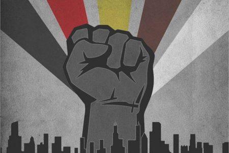 black power banner