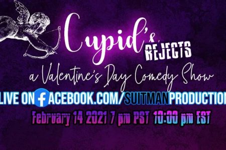 Banner for Cupid's Rejects Valentine's Day comedy show