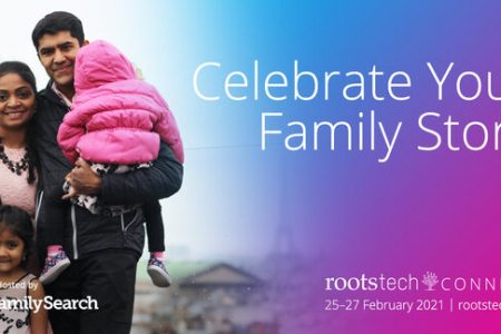 Banner for RootsTech Connect 2021