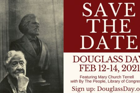 Banner for Douglass Day 2021 at Library of Congress