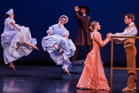 Martha Graham Dance Company Appalachian Spring, Then and Now Jacob's Pillow 2019 (2)