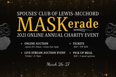 Banner for Maskerade Annual Charity Auction 2021