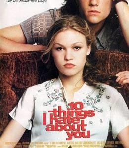 Movie poster for 10 Things I Hate About You