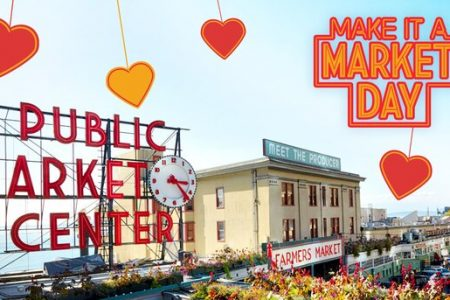 Pike Place Market Valentine's Day