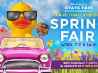 Banner for 2021 Spring Fair at Washington State Fair