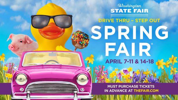 Banner for 2021 Spring Fair at Washington State Fair