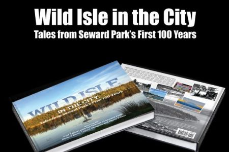 Book cover for Wild Isle In The City, Tales from Seward Park's First 100 Year