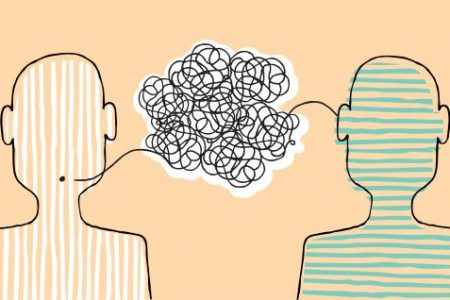 image depicting communication and listening