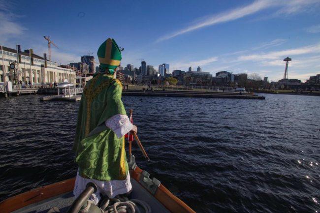 St. Patrick Landing 2018 Irish Heritage Club of Seattle