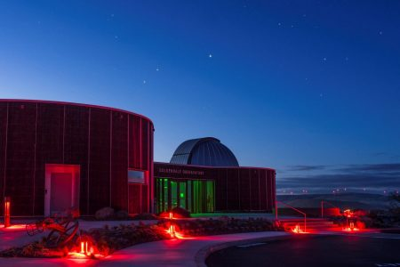 Goldendale Observatory (Washington State Parks Dept. photo)