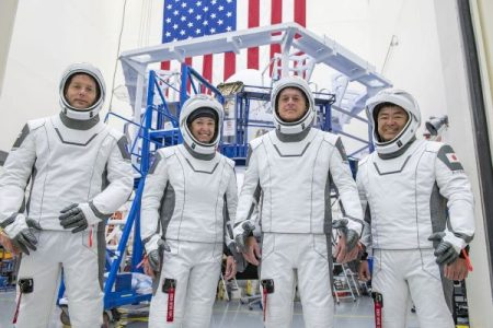 NASA's SpaceX Crew