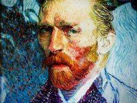 Van Gogh The Immersive experience - self portrait