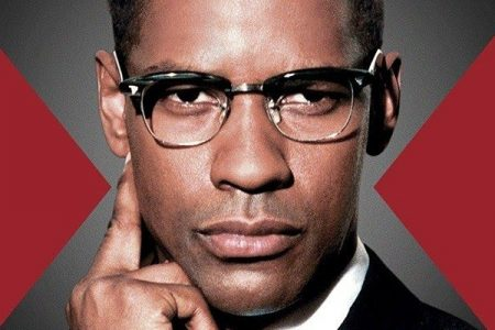 Denzel Washingotn as Malcolm X