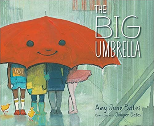 The Big Umbrella book cover by Amy June Bates