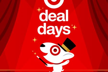 Banner for Target Deal Days