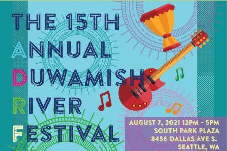 Duwamish River Festival 2021 banner