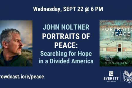 Banner for John Noltner Portraits of Peace Sept 22 2021