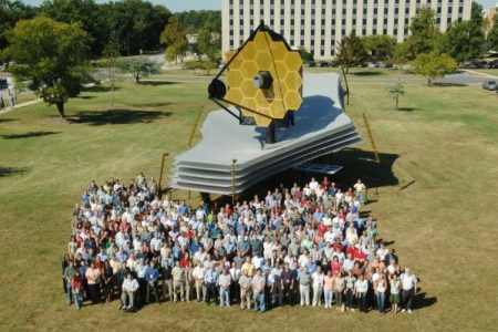 NASA's James Webb Space Telescope full-scale model