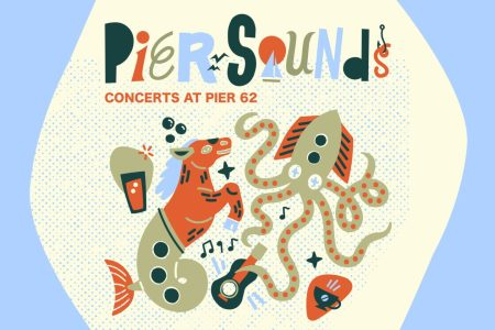 Vanner for Pier Sounds concerts at Pier 62