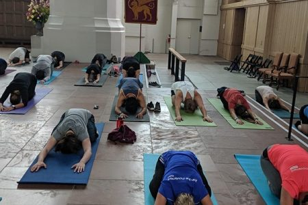 Cathedral Yoga at Saint Marks Seattle